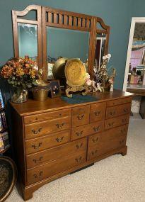 Keller Co. Oak Dresser