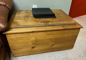 Hand Made Lift Top Toy Chest