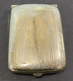 Havone German Silver Cigarette Case