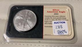 2003 Silver American Eagle UC