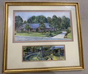 Wyatt Waters Watercolor of