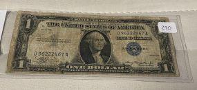 1935 Date $1 Note