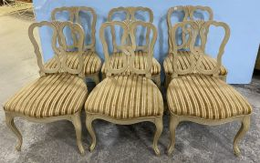 Six Kindel Co. French Style Dining Chairs