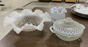Fenton Hobnail Opalescent Glassware