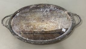 D & A Silver Plate Serving Tray