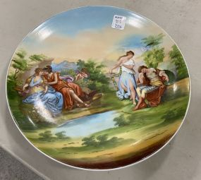 Bavaria Austria Hand Painted Charger