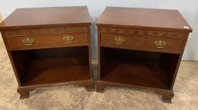 Pair of Baker Furniture Co. Night Stand