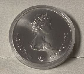 Elizabeth II Canada 1975 5 Dollar Coin