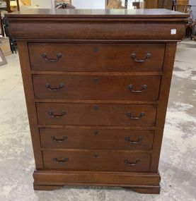 Modern Cherry Chest of Drawers