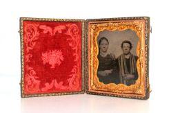 19th Century 6th Plate Tin Type