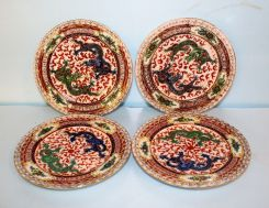 Set of Twelve Chinese Saucers