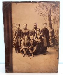 Two Tin Types and Photo