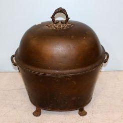 English 19th Century Coal Hod Scuttle