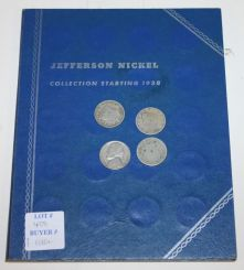 40 Jefferson Nickel and 3 Liberty Head Nickel Coins