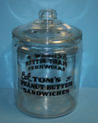 Large Tom's Jar with Lid