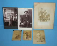 Group of Victorian Photos