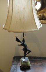 Fine Gerdago Art Deco Lamp in   form of a dancer