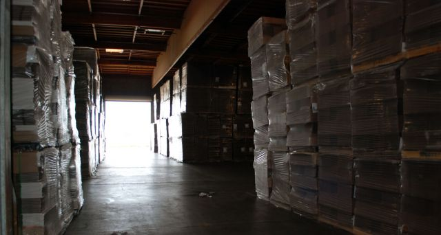 Flatbed Truck Services California Warehouse Pallets.jpg