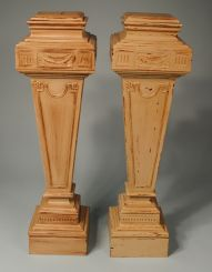 Shabby Chic Four Sided Pedestals