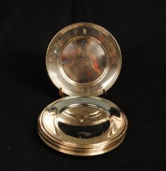 Sterling Plates and Silverplate Plates