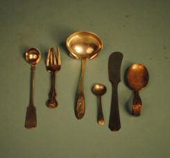 Assorted Stainless and Silverplate Items