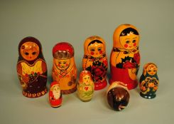 Collection of Nesting Dolls