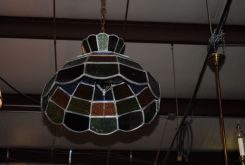 Hanging Stain Glass Fixture