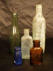 Group of 5 Bottles