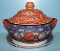 Chinese Imari Porcelain Tureen