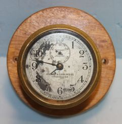 Stewart and Clark Manufacturing Company, Chicago Car or Ship Clock