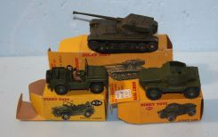 Three Boxes of Dinky Toys