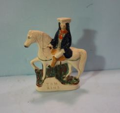 Antique English Staffordshire Figure of Tom King