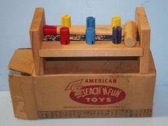 American Teach-n-Fun Wooden Toy