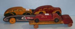 Wood Truck and Wood Gas Truck