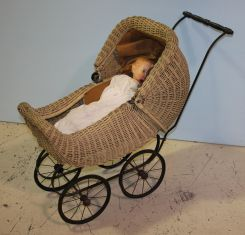 Early 20th Century Doll Stroller