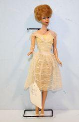 Vintage #3 Bubble Cut Barbie on Stand