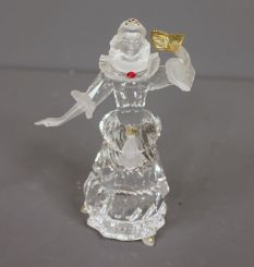 Swarovski 2000 Crystal Figure of Masquerade Columbine