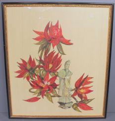 Oriental Lotus Geisha Picture