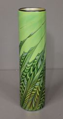Lundberg Studio of contemporary Art Glass Trumpet Vase