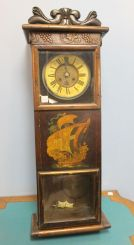 19th Century Hand Crafted Wall Clock