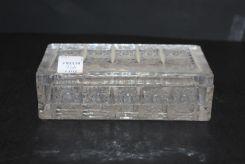 Brilliant Cut Glass Rectangular Box