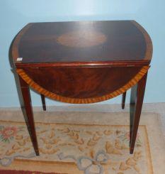 Inlay Pembroke Table
