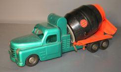 Vintage Structo Ready Mix Concrete Truck