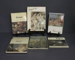 Collection of Eight Art Reference Books