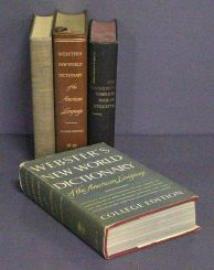 Set of Three Dictionaries and Etiquette Book