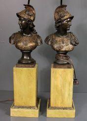 Pair of Resin Military Head Lamps