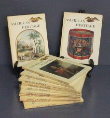 Twelve Volumes of American Heritage