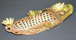 Rare Vintage Ceramic Bread Tray