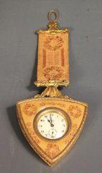 Made in Austria Triangular Shape Clock