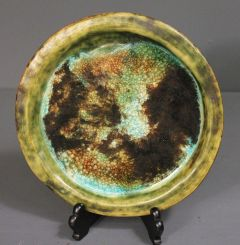 Vintage McCarty Pottery Plate